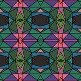 Abstraktes helles kaleidoskopisches Muster Lizenzfreie Stockfotografie
