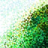 Abstraktes helles leuchtendes Natur-Muster Stockfotografie