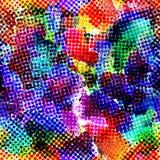 Abstraktes helles nahtloses Muster Vektor Lizenzfreies Stockfoto