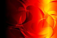 Abstraktes helles rotes gelbes Schwarzes färbt Hintergrund Auch im corel abgehobenen Betrag vektor abbildung