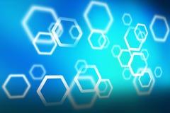 Abstraktes Hexagon 0002 Lizenzfreie Stockbilder