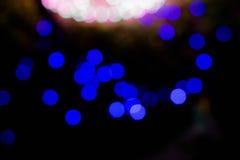 Abstraktes Hintergrund bokeh der Beleuchtung Lizenzfreie Stockfotos