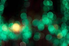 Abstraktes Hintergrund bokeh der Beleuchtung Lizenzfreies Stockbild