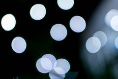 Abstraktes Hintergrund bokeh der Beleuchtung Stockfotos