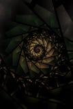 Abstraktes Hintergrund-Buntglas Lizenzfreies Stockfoto