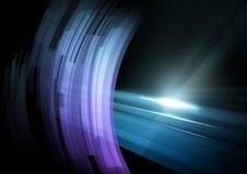 Abstraktes Hintergrund fon. Uhod Zeile im Abstand und im rotati vektor abbildung