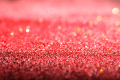 abstraktes Hintergrund Funkeln-Rot Stockfotografie
