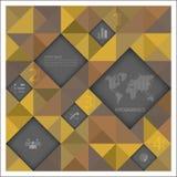 Abstraktes Hintergrund-Geschäft Infographic Lizenzfreie Stockbilder