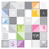 Abstraktes Hintergrund-Geschäft Infographics Lizenzfreies Stockfoto