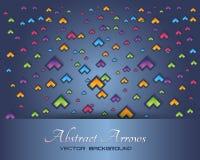 Abstraktes Hintergrund-Netz-Fahnen-Vektor-Thema Lizenzfreies Stockfoto