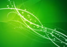 Abstraktes Hintergrund-Tapeten-Grün Stockfotografie