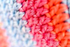 Abstraktes Hintergrundbeschaffenheits-Garnspinnen stockfoto