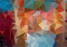 Abstraktes Hintergrundbestehen eckig vektor abbildung
