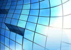 Abstraktes Hintergrundblau Lizenzfreies Stockfoto