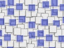 Abstraktes Hintergrunddesign mit Rechteckform Stockfoto