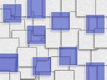 Abstraktes Hintergrunddesign mit Rechteckform Lizenzfreie Stockfotografie