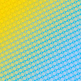 Abstraktes Hintergrundgelb und -BLAU Stockfotos