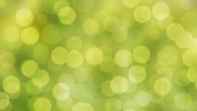 Abstraktes Hintergrundgrün natürliches bokeh Stockfotografie
