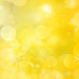 Abstraktes Hintergrundlichtgold Lizenzfreie Stockfotos