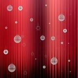 Abstraktes Hintergrundmuster der weißen Sterne auf dunkelroter Auslegung Stockfotos