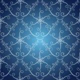 Abstraktes Hintergrundmuster der weißen Sterne auf dunkelroter Auslegung Auch im corel abgehobenen Betrag vektor abbildung