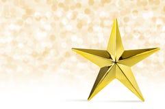 Abstraktes Hintergrundmuster der weißen Sterne auf dunkelroter Auslegung Goldener Stern mit Lichtschnee-Winter backgr Lizenzfreies Stockbild