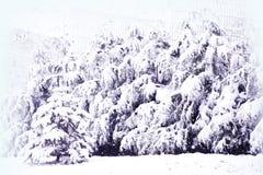 Abstraktes Hintergrundmuster der weißen Sterne auf dunkelroter Auslegung Hintergrund des neuen Jahres Winterurlaub Lizenzfreies Stockbild