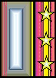 Abstraktes insignia-2 vektor abbildung