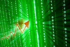 Abstraktes Investitionswachstum Lizenzfreie Stockfotografie