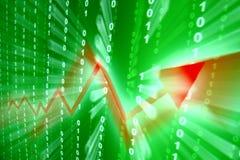 Abstraktes Investitionswachstum Stockfoto