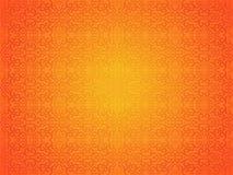 Abstraktes künstlerisches kreatives orange nahtloses Muster Lizenzfreie Stockfotos