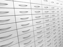 Abstraktes Kabinett Stockbild