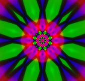 Abstraktes Kaleidoskop Lizenzfreies Stockbild