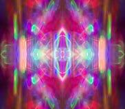 Abstraktes Kaleidoskopmuster/-hintergrund Stockbilder