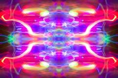 Abstraktes Kaleidoskopmuster/-hintergrund Stockbild
