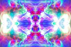 Abstraktes Kaleidoskopmuster/-hintergrund Lizenzfreies Stockfoto