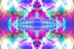 Abstraktes Kaleidoskopmuster/-hintergrund Lizenzfreie Stockbilder