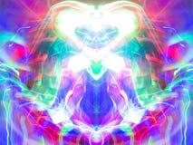 Abstraktes Kaleidoskopmuster/-hintergrund Lizenzfreies Stockbild