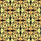 Abstraktes kariertes Gitter verkauft nahtloses Muster Lizenzfreie Stockbilder
