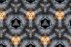 Abstraktes Kerzenmuster Stockfotos