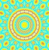 Abstraktes konzentrisches Muster Stockbilder