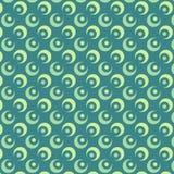 Abstraktes Kreis-Vektor-Muster Lizenzfreies Stockfoto