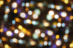 Abstraktes Kreisbokeh stockfotos
