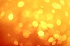 Abstraktes Kreisfeuer bokeh auf Hintergrundbeschaffenheit Lizenzfreies Stockbild