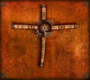Abstraktes Kreuz Stockbild