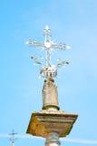 abstraktes Kreuz in Italien Europa und Lizenzfreies Stockbild