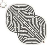 Abstraktes Labyrinth Lizenzfreie Stockfotos