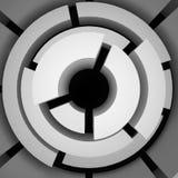 Abstraktes Labyrinth Stockfoto