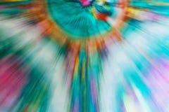 Abstraktes laut summendes Muster Stockbild
