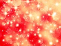 Abstraktes Lichtgirlande des Hintergrundes Weiche unscharfe Weihnachts Lizenzfreie Stockbilder